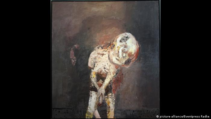 Georg Baselitz The big night down the drain (picture-alliance/Eventpress Radke)