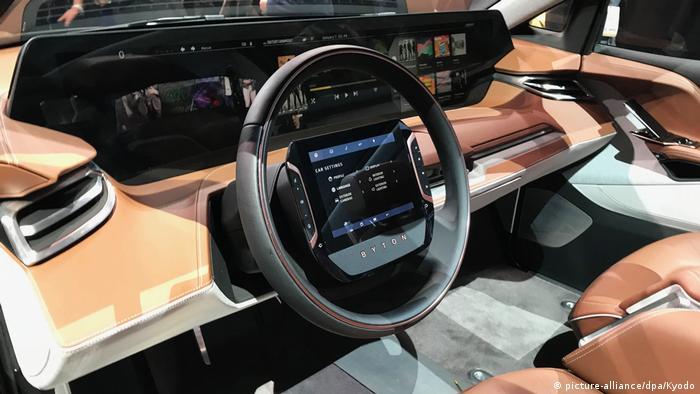 USA Technikmesse CES in Las Vegas Elektro-SUV von Byton (picture-alliance/dpa/Kyodo)