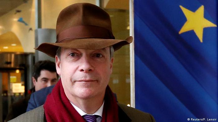 Brüssel Nigel Farage