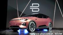 USA Technikmesse CES in Las Vegas Elektro-SUV von Byton