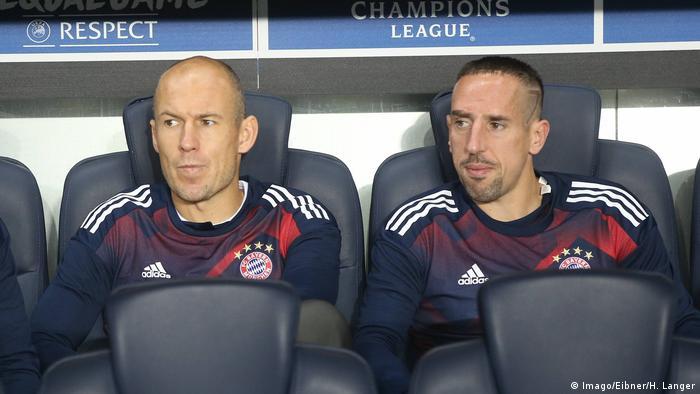 UEFA Champions League FC Bayern München Arjen Robben und Franck Ribery