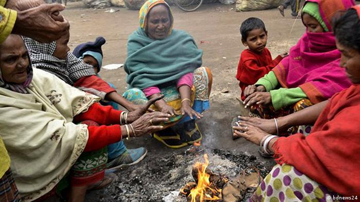Bangladesch Kältewelle