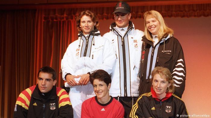 Olympiakleidung für Nagano '98 (picture-alliance/dpa)