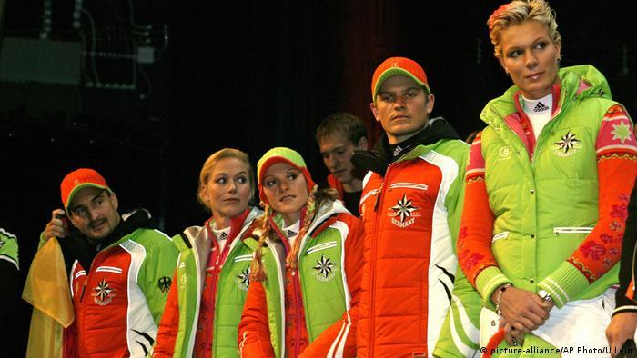 Форма немецкой сборной на Олимпиаде в Турине