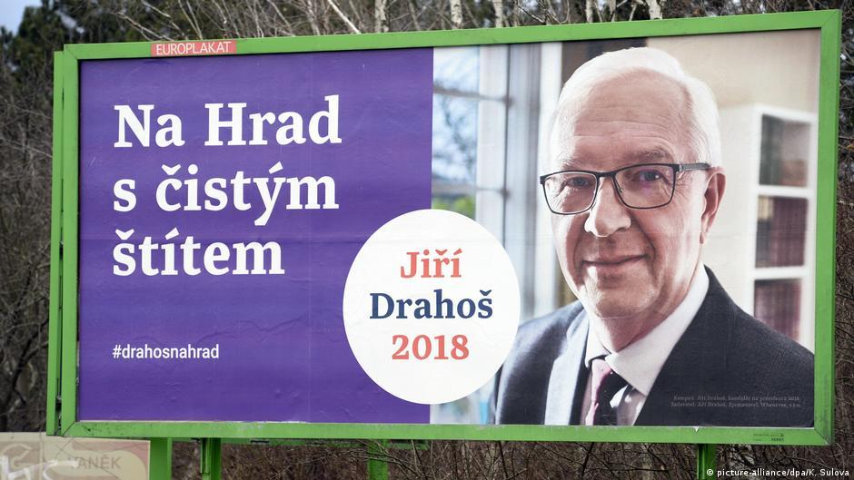 Prag Wahlkampf Jiri Drahos