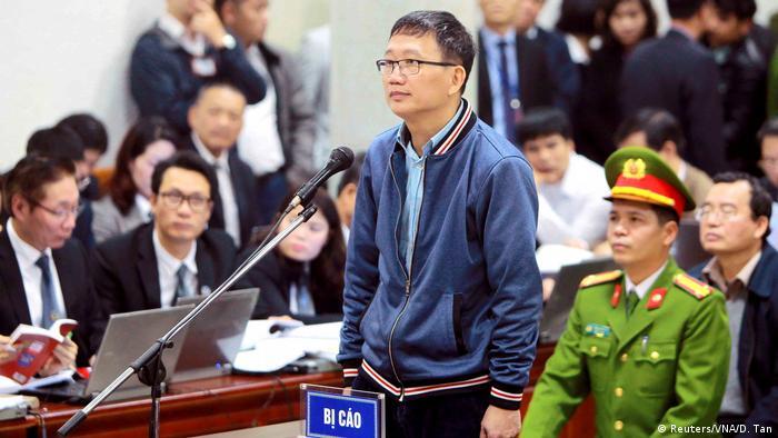 Trinh Xuan Thanh trial in Hanoi