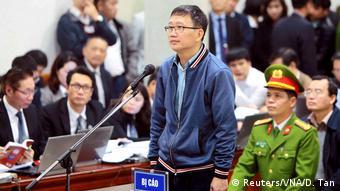 Vietnam Prozess Trinh Xuan Thanh in Hanoi