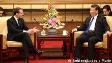 China Macron trifft Xi Jinping