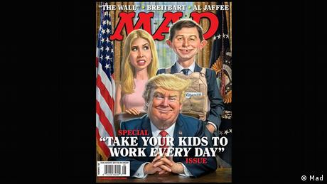 Mad magazine cover - Take your kids to work every day issue (Mad)