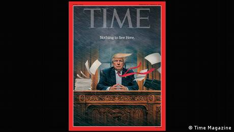 Time magazine cover: Donald Trump, Nothing to See Here (Time Magazine)