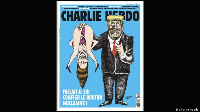 Charlie Hebdo cover depicting Donald Trump (Charlie Hebdo)