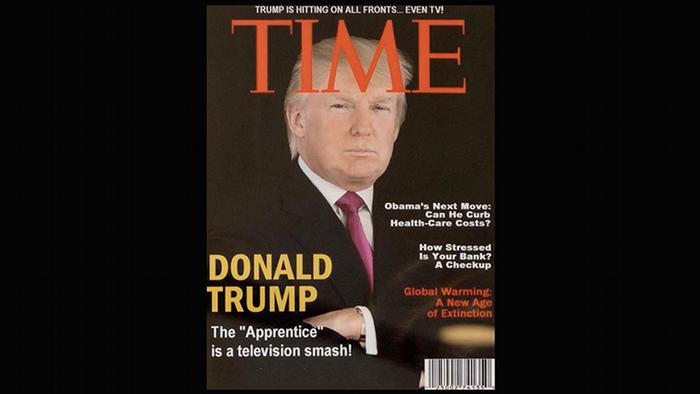 Donald Trump's fake Time magazine cover