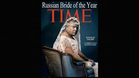 Fake Time magazine cover - Trump Russian bride of the year