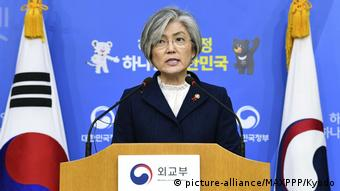 Südkorea Außerministerin Kang Kyung Wha
