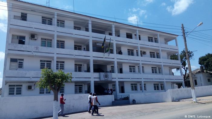 Sede da polícia moçambicana em Nampula