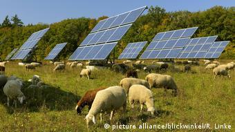 Солнечная электростанция в Баварии