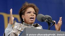 USA Oprah Winfrey im Martin Luther King Jr. National Memorial (2006)