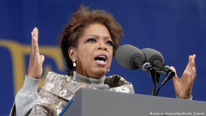Oprah Winfrey in 2006 (picture-alliance/dpa/Pool/K. Dietsch)