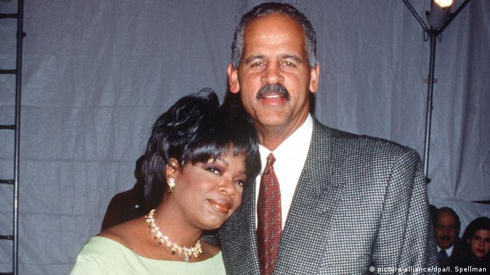 USA Oprah Winfrey mit Ehemann Stedman Graham (2001) (picture-alliance/dpa/I. Spellman)