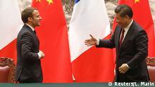 China Staatsbesuch Emmanuel Macron, Präsident Frankreich | Xi Jinping