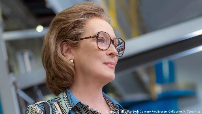 Meryl Streep stars in The Post as a newspaper editor Katharine Graham (picture-alliance/20th Century Fox/Everett Collection/N. Tavernise)