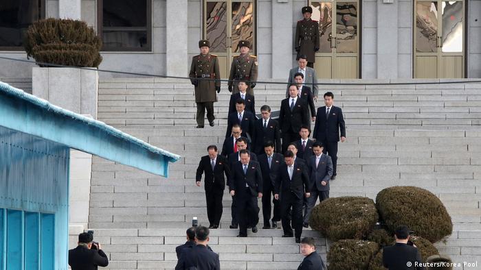 Südkorea Nordkorea Gespräche in Panmunjom (Reuters/Korea Pool)