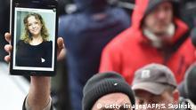 Ukraine Protest & Solidarität Irina Nosdrowska, ermordete Anwältin