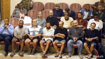 Äquatorialguinea Angeklagte nach dem Putschversuch 2004