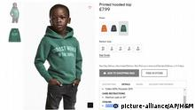 H&M Ärger um Werbefoto | Coolest Monkey in the Jungle  (picture-alliance/AP/H&M)