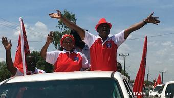 Mosambik, Paulo Vahanle, RENAMO Kandidat für Zwischenwahlen in Nampula (DW/S.Lutxeque)