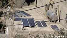 Yemeni family's experiment for Solar energy's usage. Januar 2018