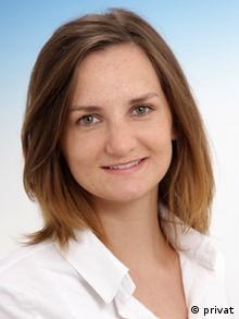 Lena Masch, wiss. Mitarbeiterin der Heinrich Heine Universität Düsseldorf