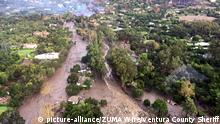 A mudslide in Montecito (picture-alliance/ZUMA Wire/Ventura County Sheriff)