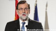 Spanien Mariano Rajoy in Madrid
