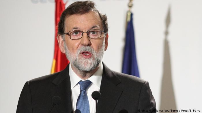 Spanien Mariano Rajoy in Madrid (picture-alliance/dpa/Europa Press/E. Parra)
