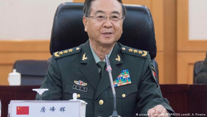 China Volkskongress - Fang Fenghui (picture alliance/ZUMAPRESS.com/D. A. Pineiro)