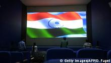 Indien nationale Hymne im Kino