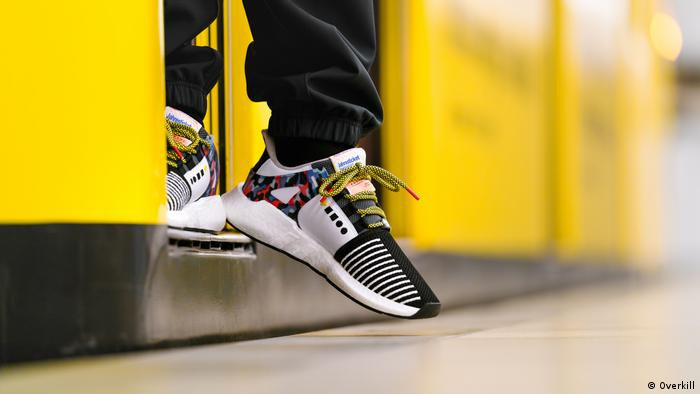 Special-edition Adidas sneakers that double as a Berlin public transportation ticket (Overkill)