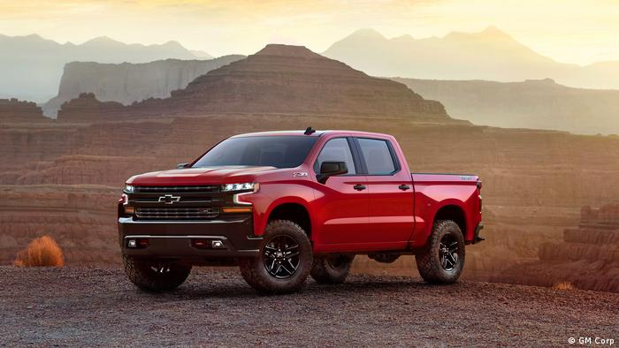 Autoshow - Detroit 2018 - Chevrolet Silverado (GM Corp )