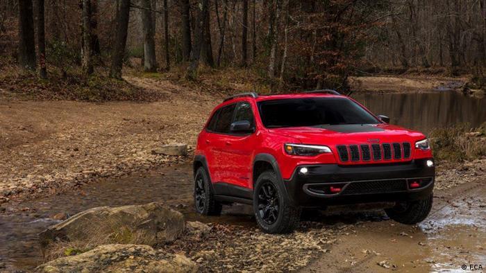 Autoshow - Detroit 2018 - Jeep Cherokee (FCA )