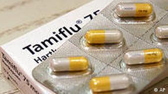 Противовирусный препарат Tamiflu
