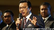 Malaysia - Suche nach MH370 - Liow Tiong Lai