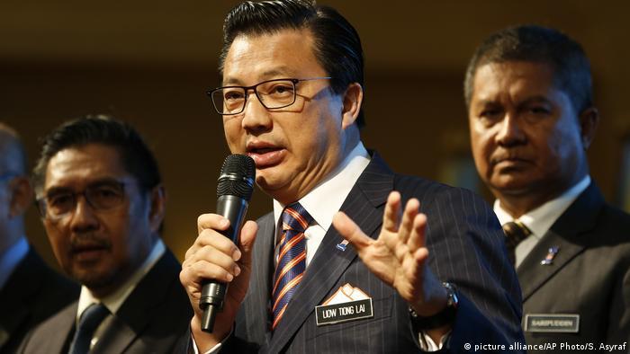 Ministro dos Transportes da Malásia, Liow Tiong Lai
