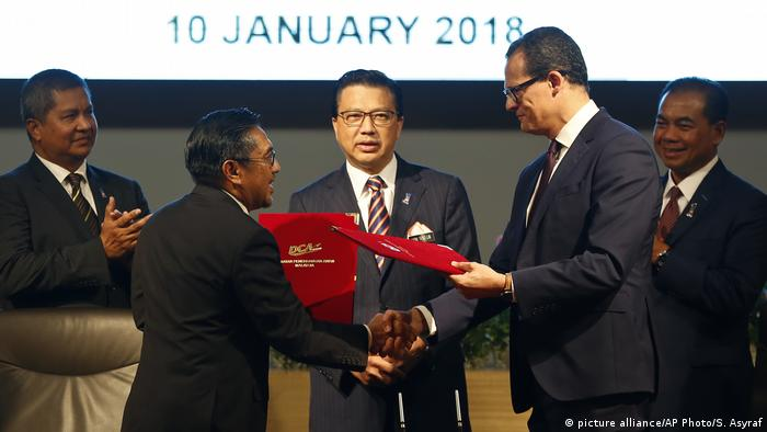 Malaysia - Suche nach MH370 - Vereinbarung mit Ocean Infinity getroffen (picture alliance/AP Photo/S. Asyraf)