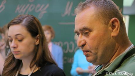 Gennadiy Tudoryanu, Chefredakteur der Zeitung Capital Market in Chisinau, Republik Moldau (DW/S. Savchenko)
