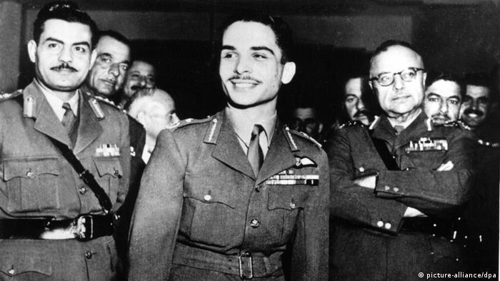 Arabische Legion ist König Hussein ergeben (picture-alliance/dpa)