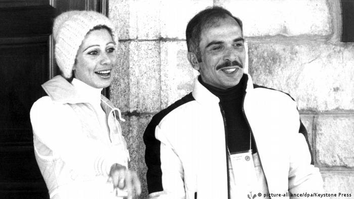 König Hussein von Jordanien und Königin Alia (picture-alliance/dpa/Keystone Press)