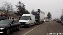 Protestaktion an der ukrainisch-polnischen Grenze