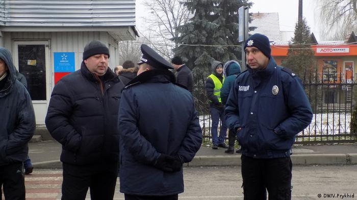Поліція уважно стежить за акцією на прикордонному пункті Шегині