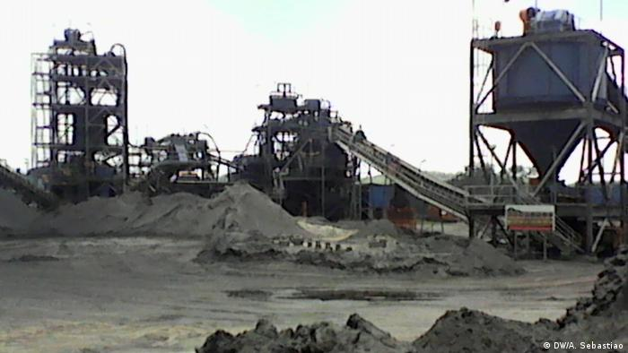Mina de carvão da Jindal em Tete, Moçambique